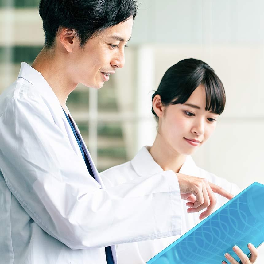 専門医と看護師