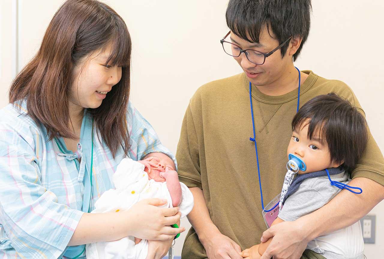 出産立会い