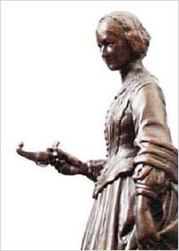 ナイチンゲール像画像